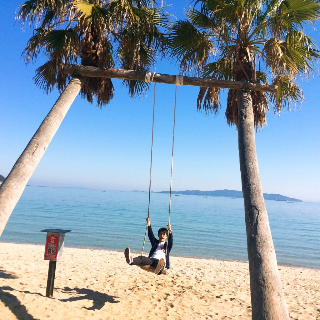ヤシの木ブランコ 糸島