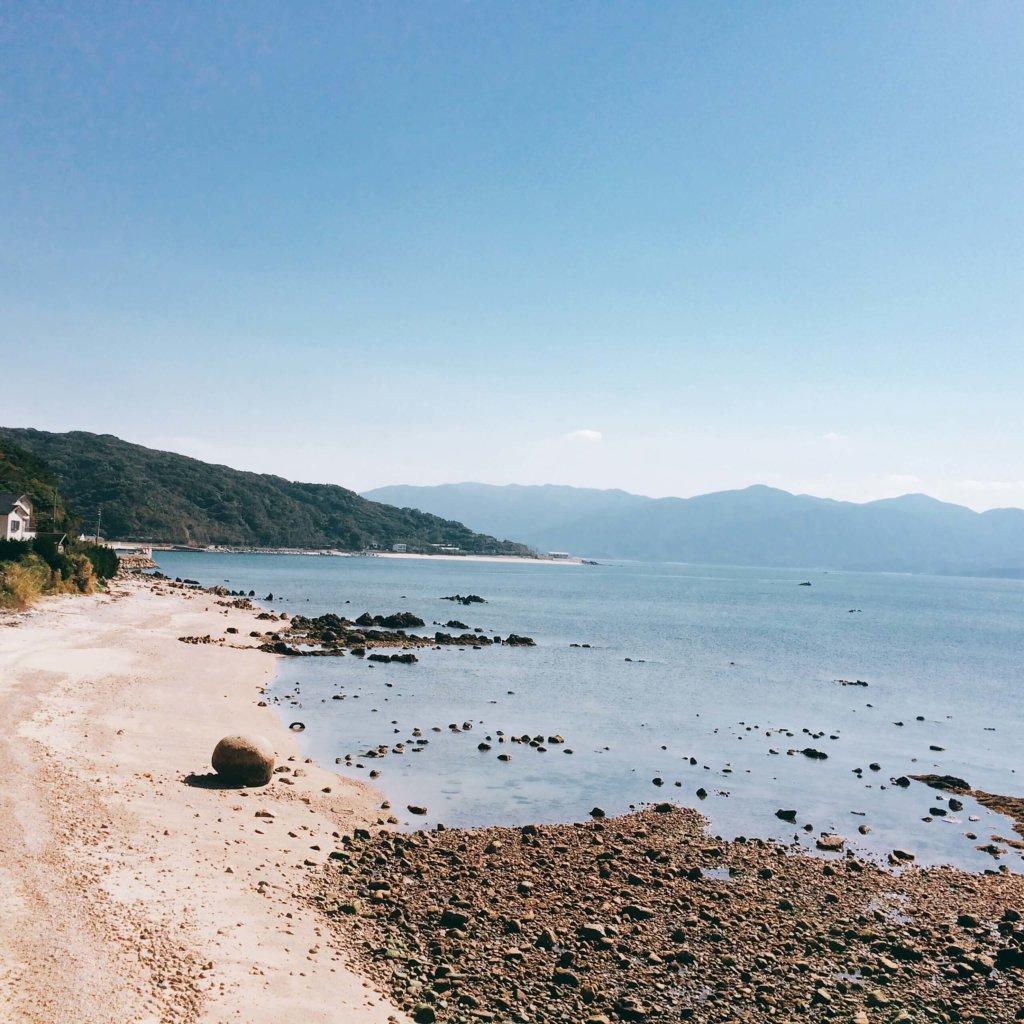 糸島 海岸沿い