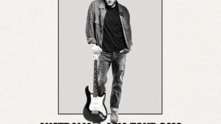 John Mayer 来日2019年