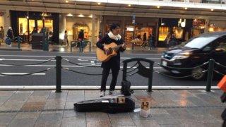 京都駅前ゲリラライブ