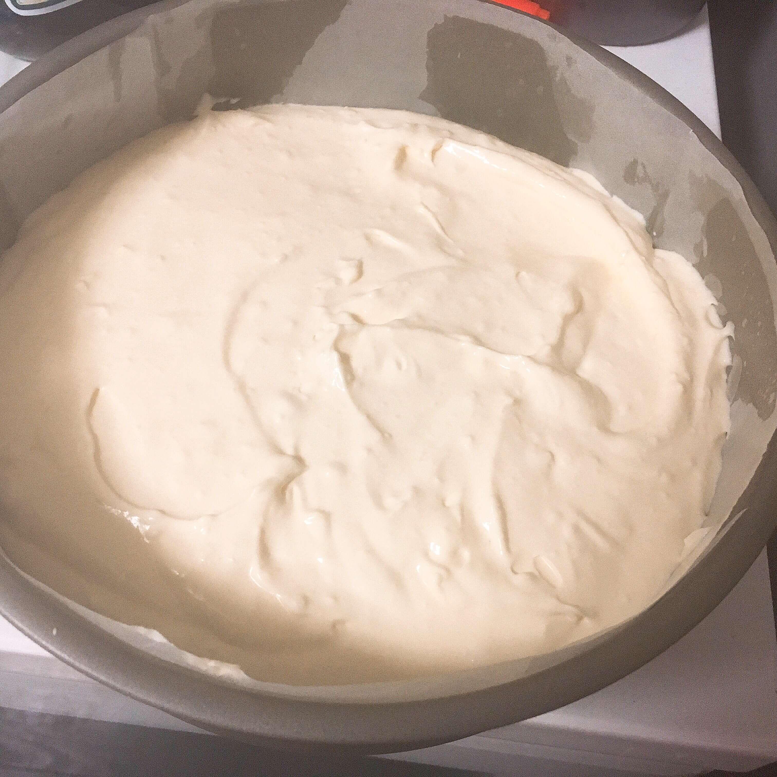 ホワイトチョコチーズケーキ  レシピ