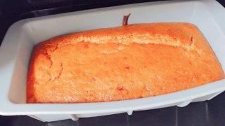 パウンドケーキを焼きました