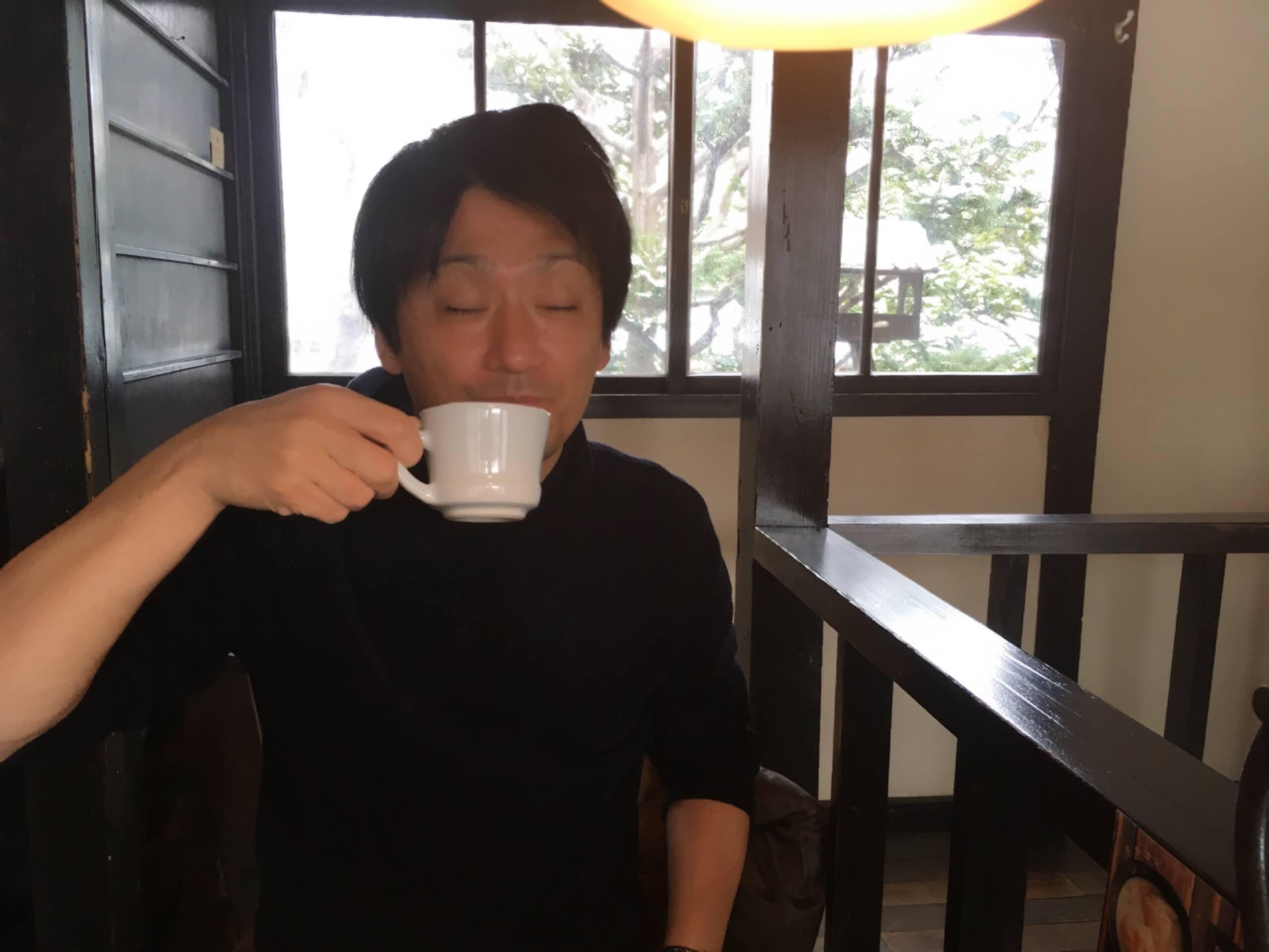 森彦コーヒー初体験