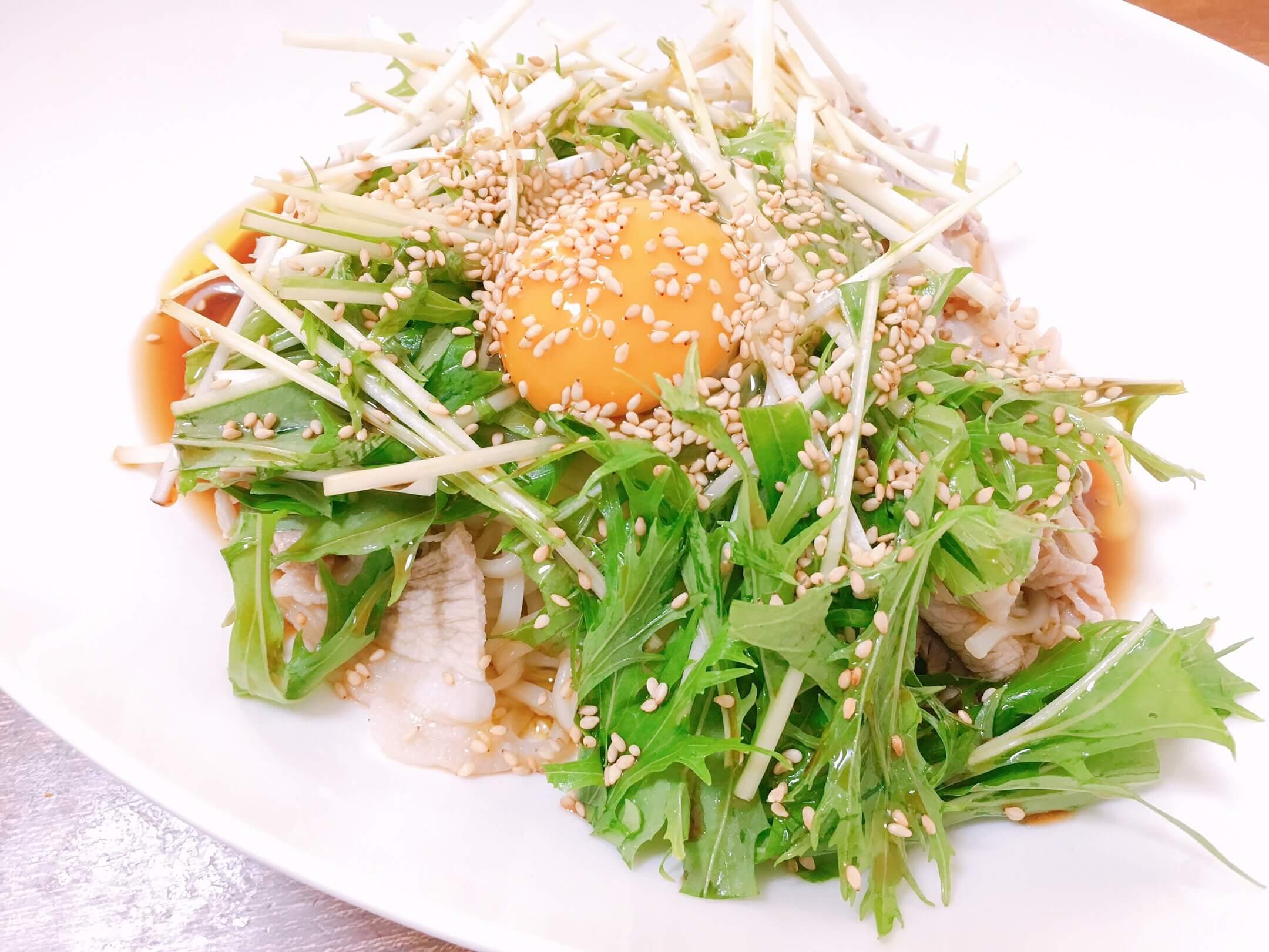 水菜 簡単 レシピ