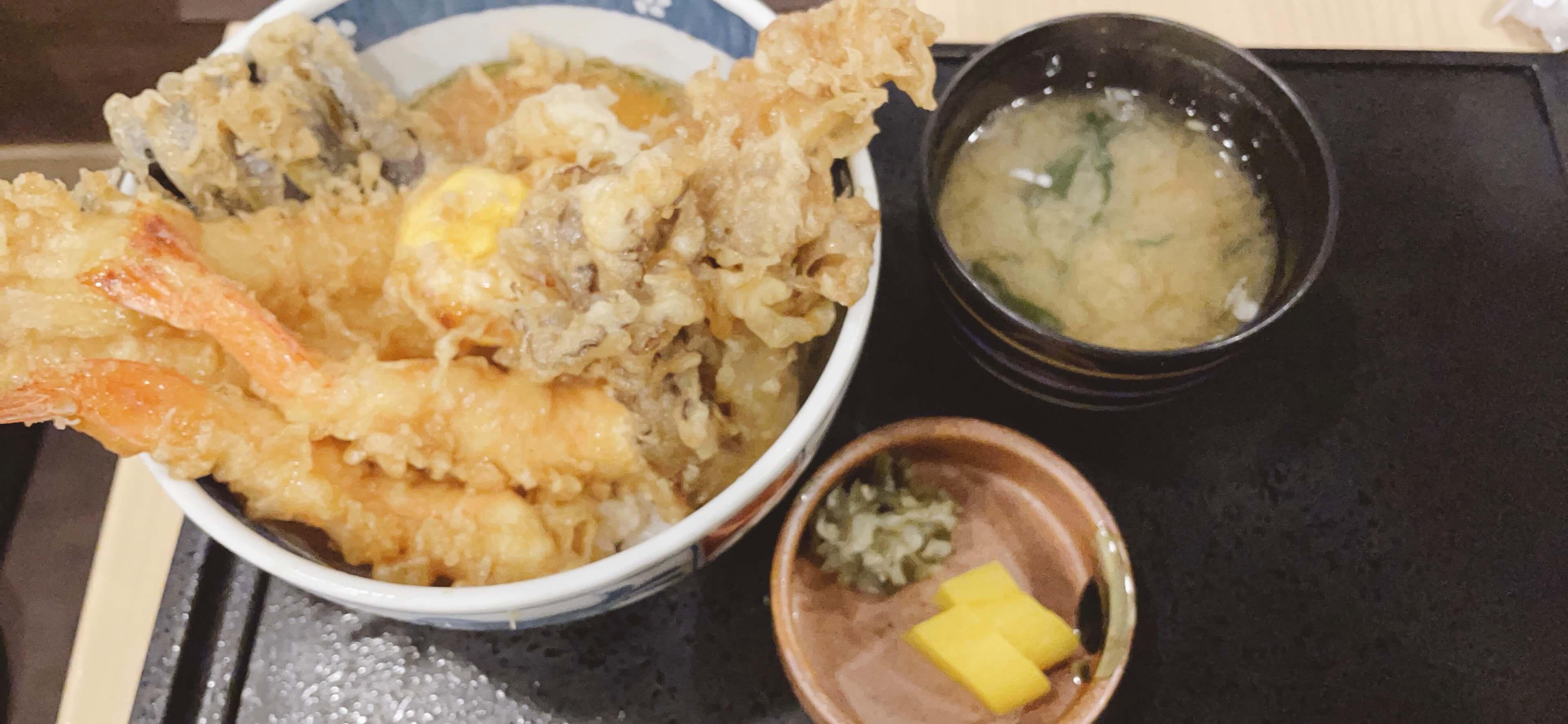 【和食・天ぷらのさくさく@センター北】たまには昼間に天丼